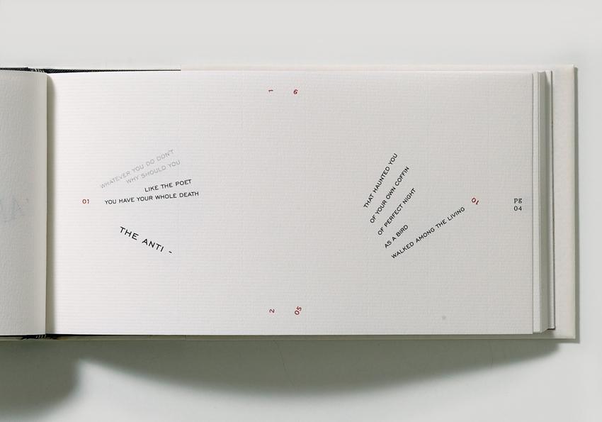 Artwork 'The Antibook' by Francisca Prieto - detail book 2