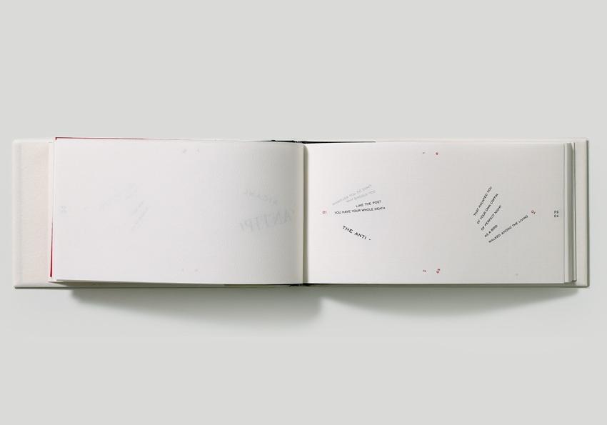 Artwork 'The Antibook' by Francisca Prieto - detail book 1